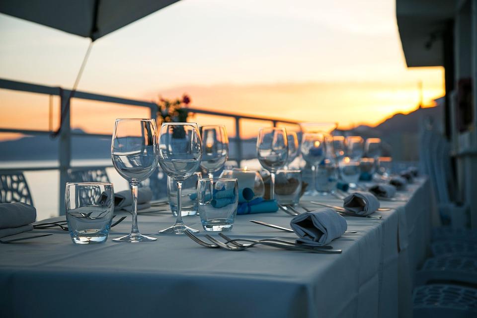 Table, Glassware, Cutlery, Silverware, Stemware