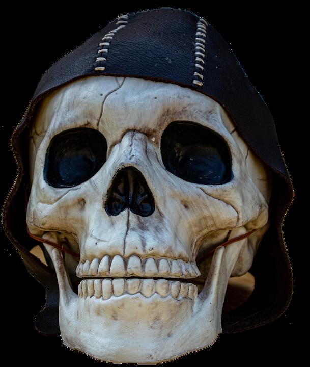 Skull, Bones, Pirate, Horror, Spooky, Cutout