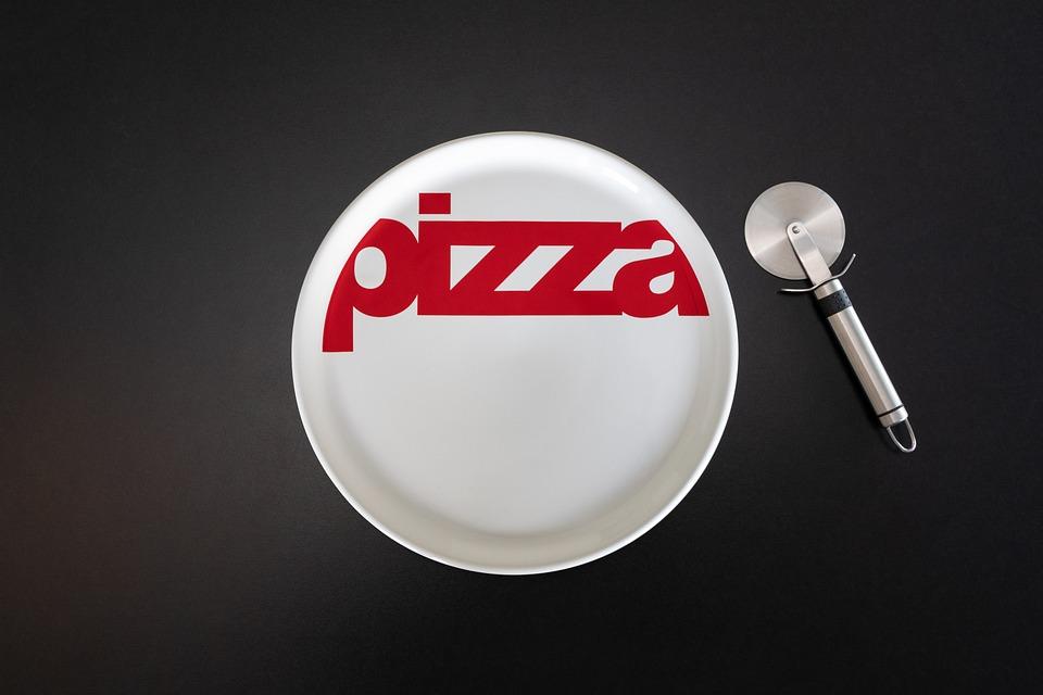 Pizza, Board, Cutter, Knife, Cutlery, Food, Tasty