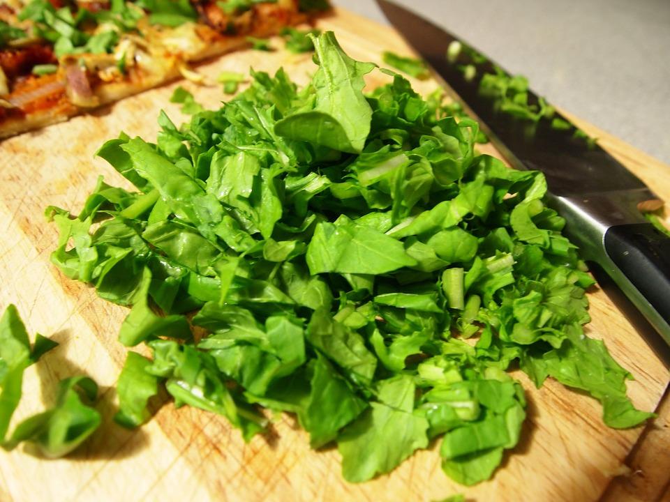 Green, Food, Cutting, Cutting Board, Healthy, Tasty