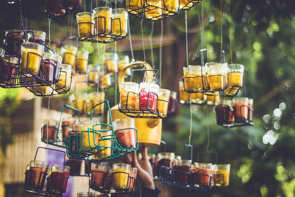 Art, Glass, Tea, Bokeh, Outdoors, Kettle, Cutting Chai