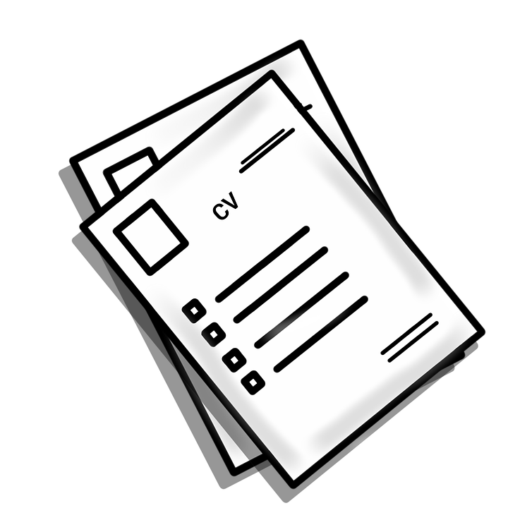 free photo cv experience resume clip clipart job hr vector