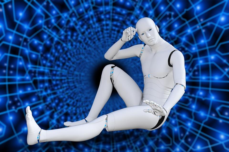Futuristic, Robot, Cyborg, Intelligence, Artificial
