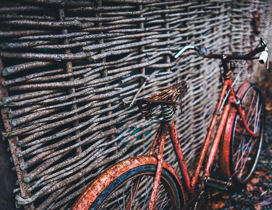 Rustic, Bicycle, Retro, Old, Vintage, Bike, Cycle
