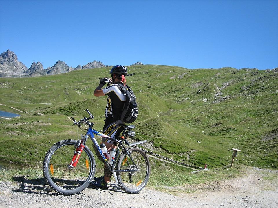 Cycling, Bike, Away, Mountains, Transalp, Nature, Sport