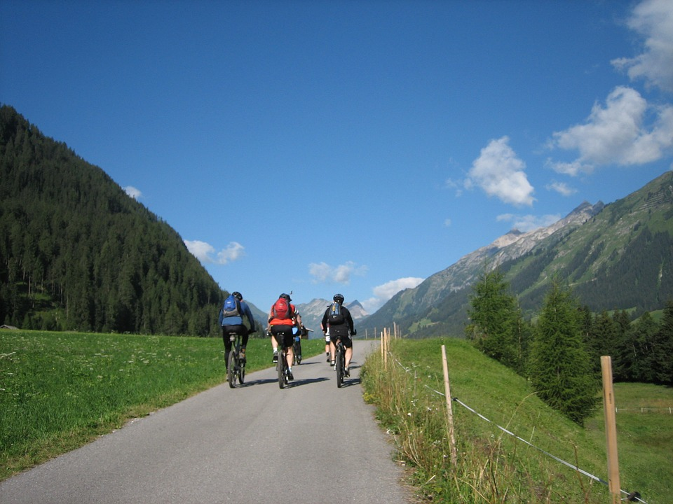 Cycling, Bike, Away, Transalp, Sport