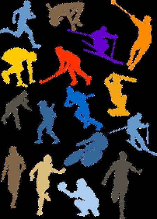 Baseball, Bicycle, Cricket, Cycling, Hockey, Run