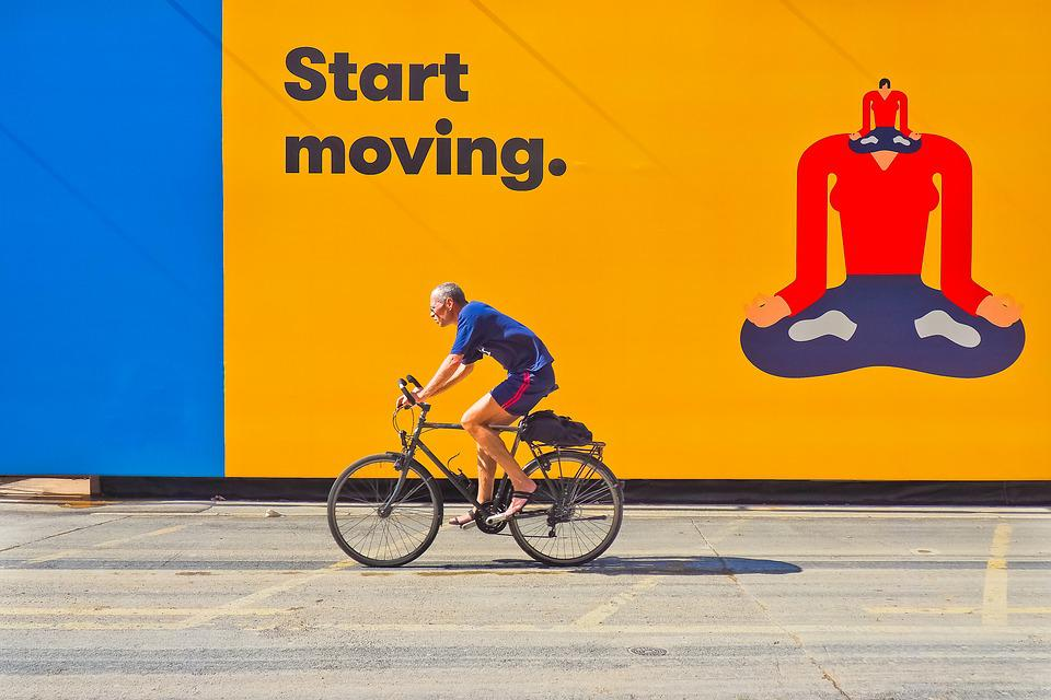 Cyclists, Movement, Cycling, Wheel, Locomotion, Leisure