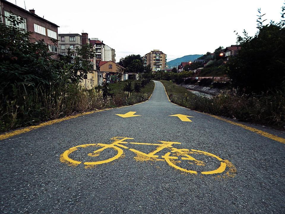 Cycling Path, Bike, Commuting, Biking