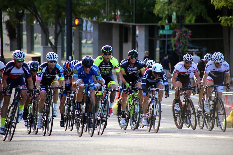 Bikers, Cyclist, Biking, Activity, Race, Bike, Outdoors