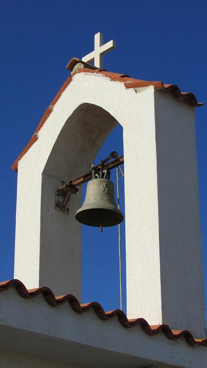 Church, Belfry, Architecture, Orthodox, Bell, Cyprus