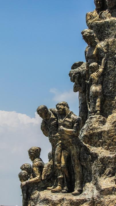 Cyprus, Famagusta, Statue, Monument, Sightseeing