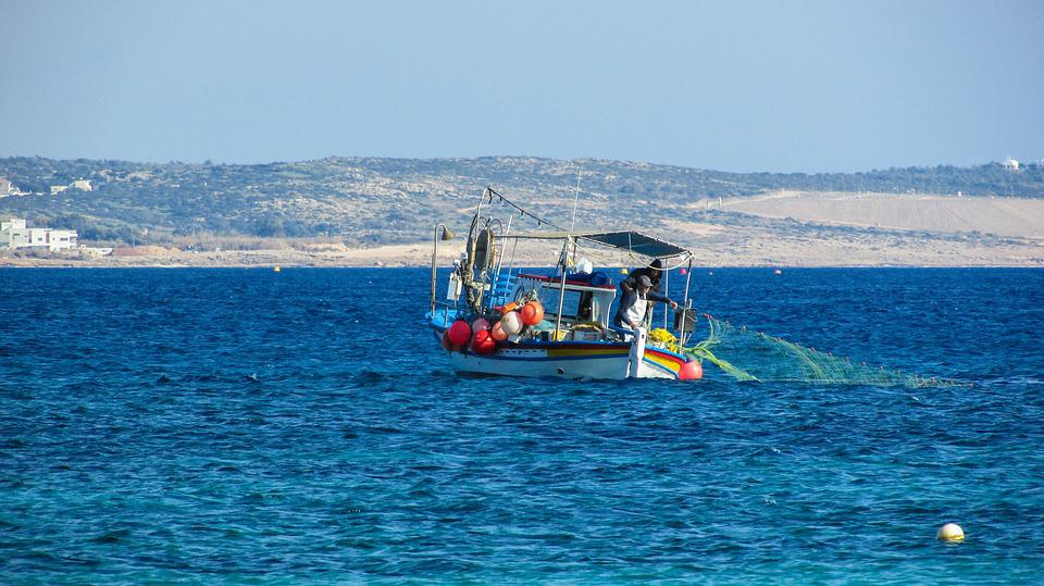 Cyprus, Fishing Boat, Mediterranean, Fishing
