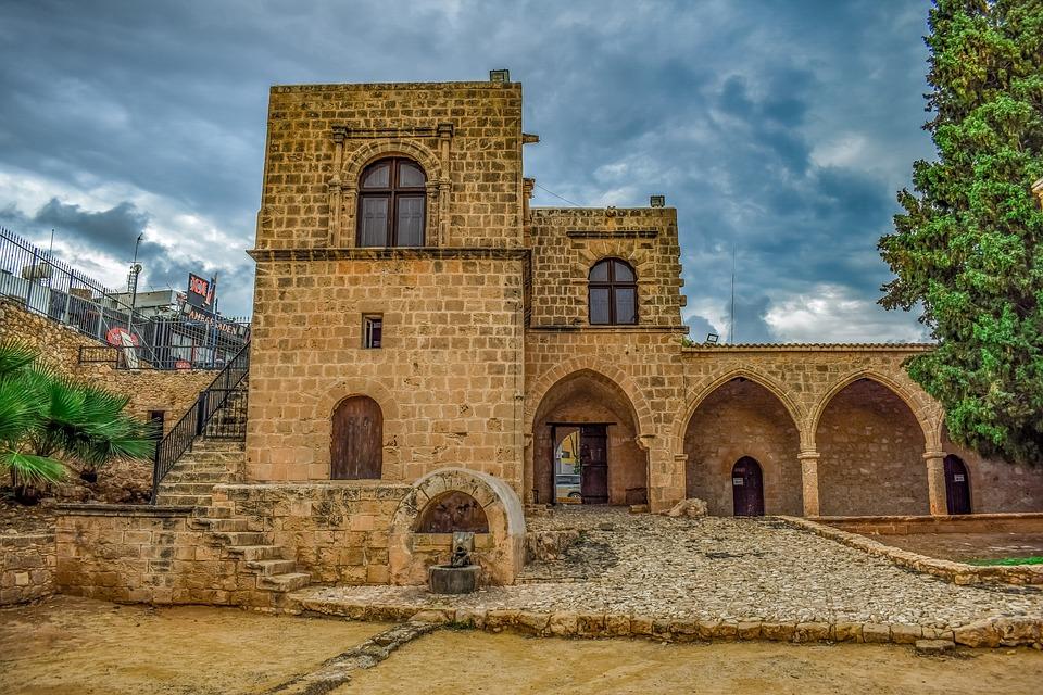 Cyprus, Ayia Napa, Monastery, Medieval, Landmark