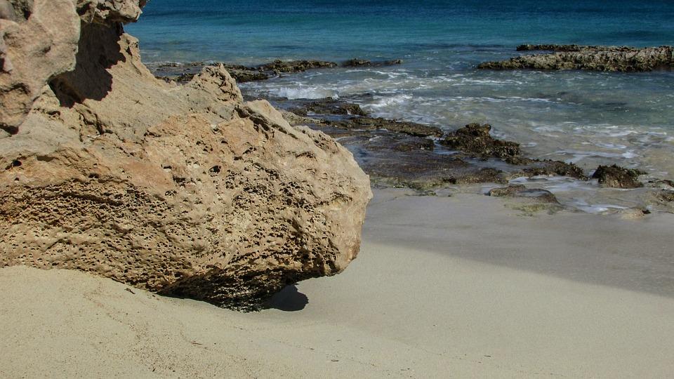Cyprus, Ayia Napa, Makronissos Beach, Cove