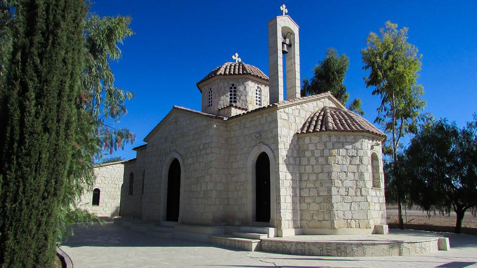 Cyprus, Mosfiloti, Church, Orthodox, Architecture