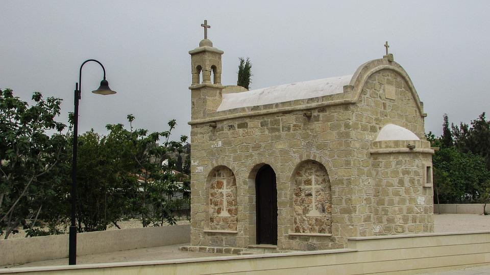 Cyprus, Pyla, Ayios Efstathios, Chapel, Orthodox