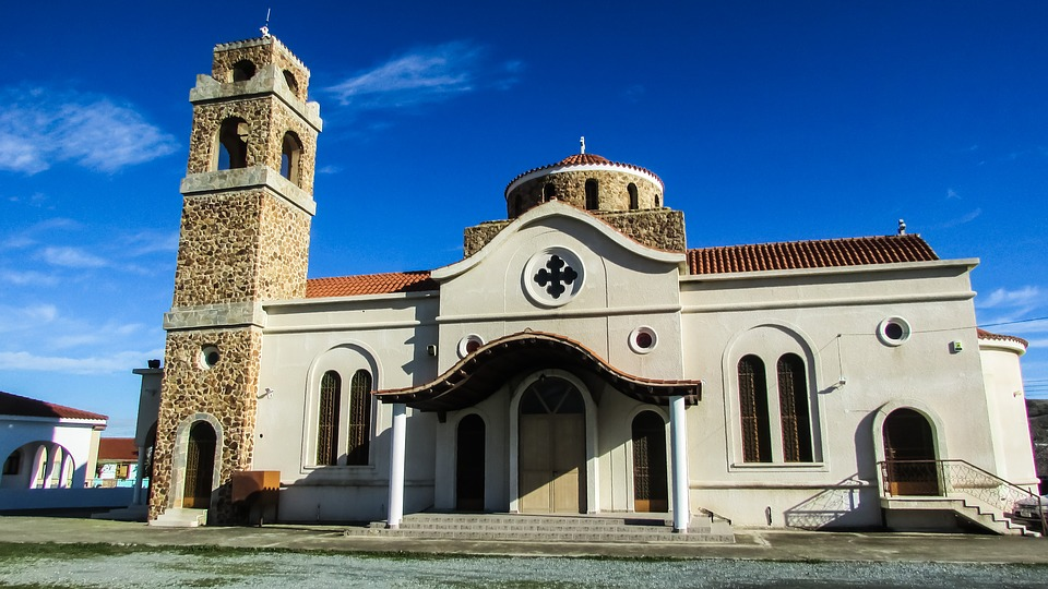 Cyprus, Mosfiloti, Church, Orthodox
