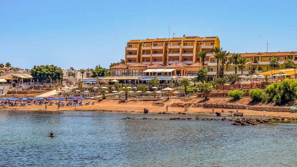 Cyprus, Protaras, Sea, Seashore, Beach, Tourism, Summer