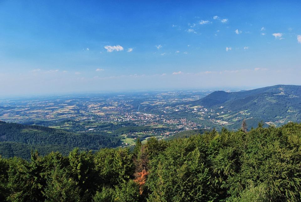 Mountains, Retreat, Czantoria Wielka, Beskids, Tree