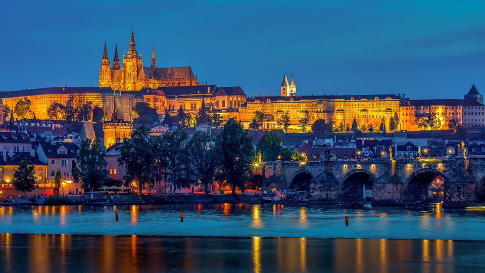 Prague, Cathedral, Architecture, Church, Czech, City