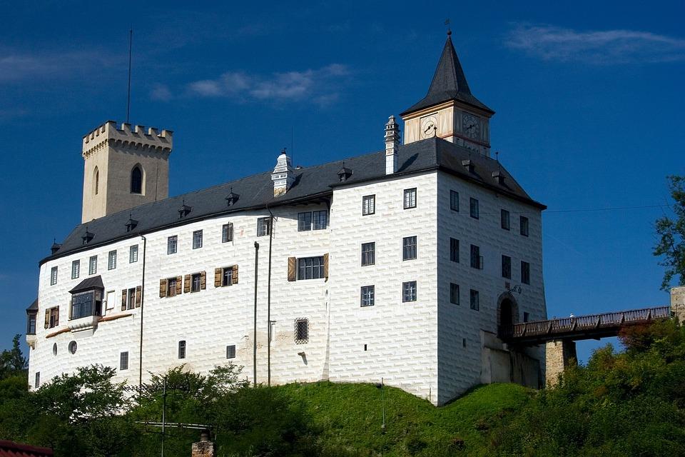 Ancient, Architecture, Bridge, Building, Castle, Czech