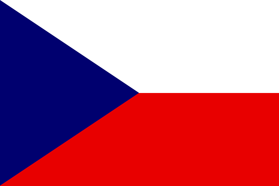 Czech, Flag, Republic, Symbol, Country, National
