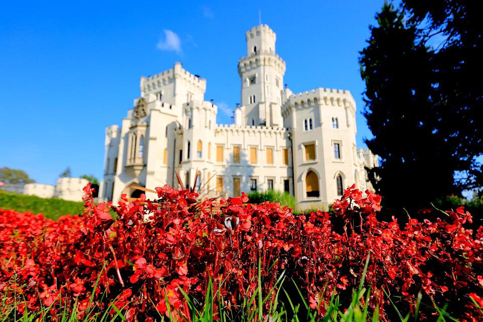 Flowers Castle, Czech, Central Europe