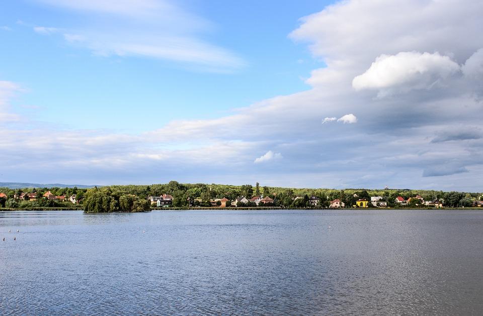 Landscape, Czech, Lake, Prague
