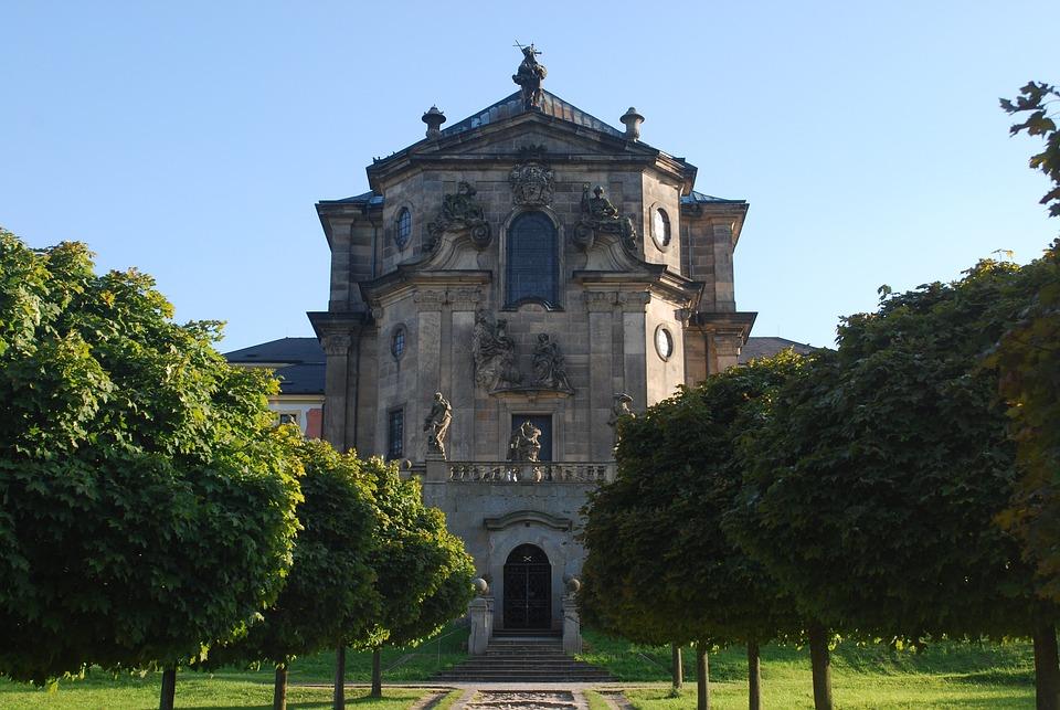Kuks, Czech Republic, Castle, Summer, Monument