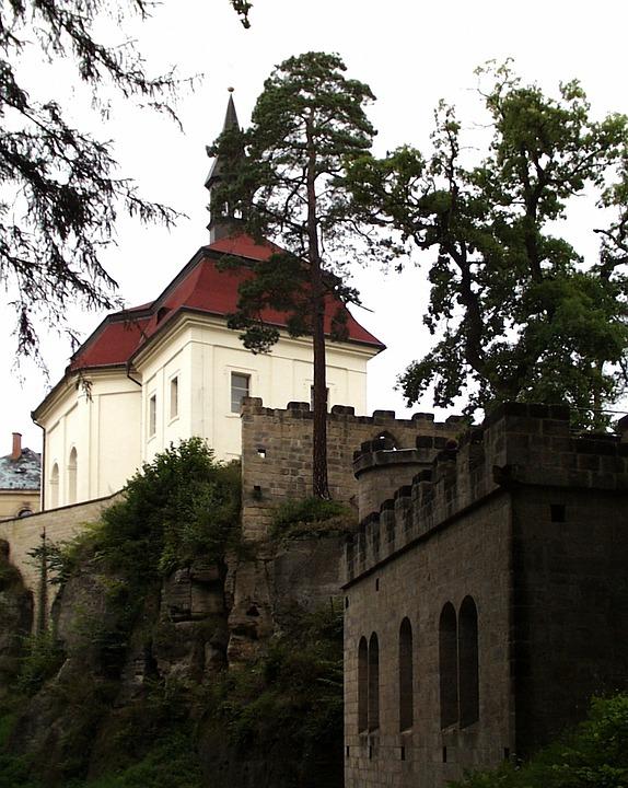 Monument, Wallenstein, Czech Republic
