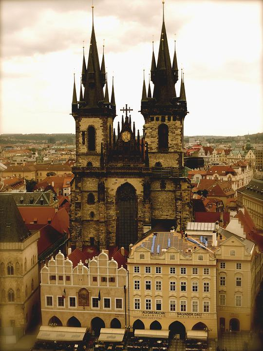 Czech Republic, Church, Monument, Architecture, Old