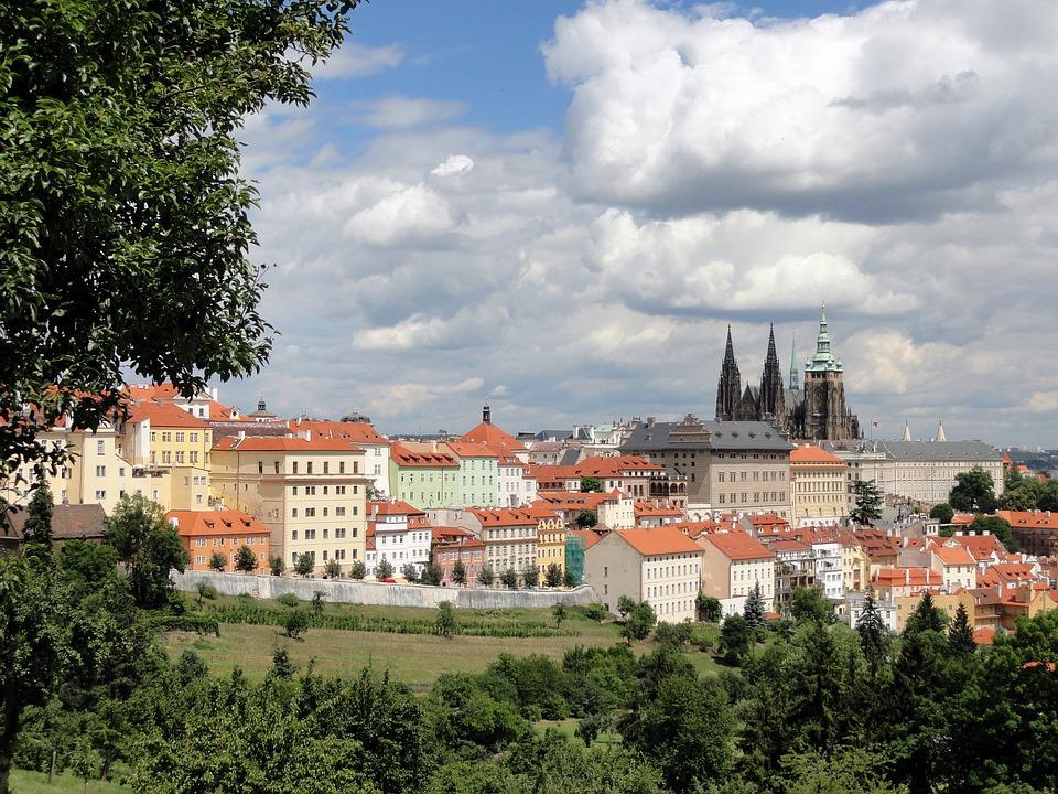 Prague, Czech Republic, City, Buildings, Architecture