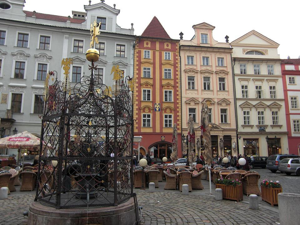 Prague, Czech Republic, Facade, Architecture