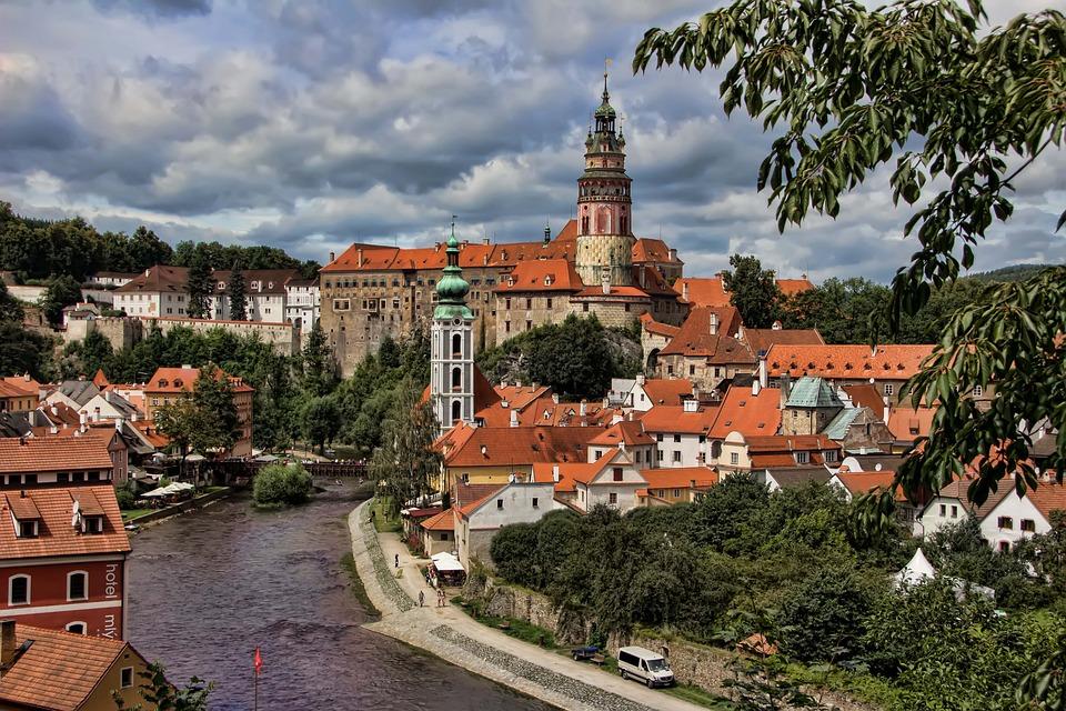 český Krumlov, Czech Republic, Unesco
