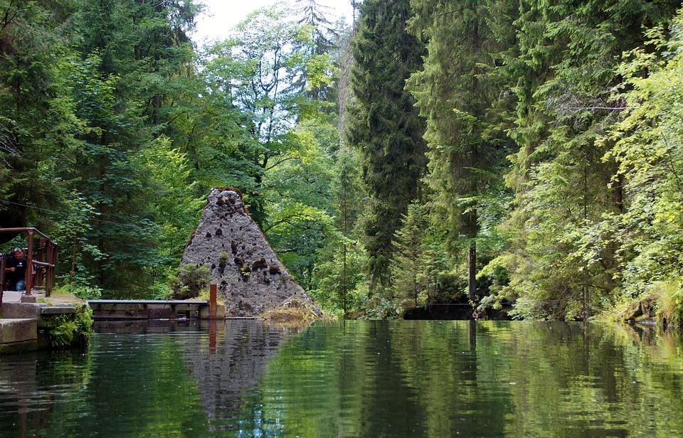 Hřensko, Czech Switzerland, Defile, The Wild Gorge