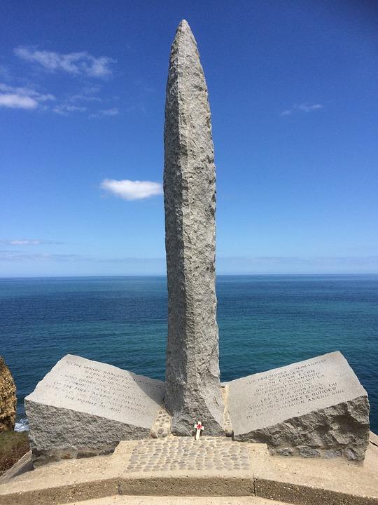 Pointe Du Hoc, Ranger Memorial, Normandy, D-day