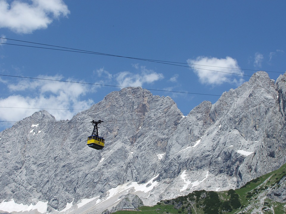 Dachstein, Styria, Mountains, Cable Car, Climbing Wall
