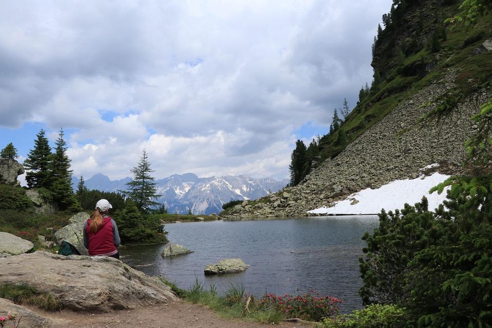 Mountains, Mountain Landscape, View, Dachsteingebergte