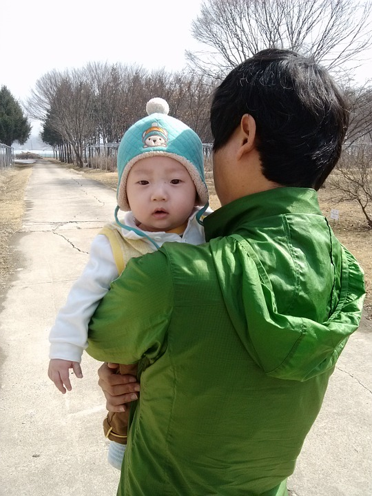 Dad, Walk, Walking, Baby