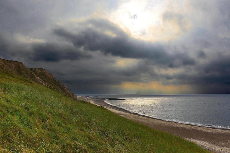 Denmark, Dänemark, Coast, Coastline, Küste, Strand