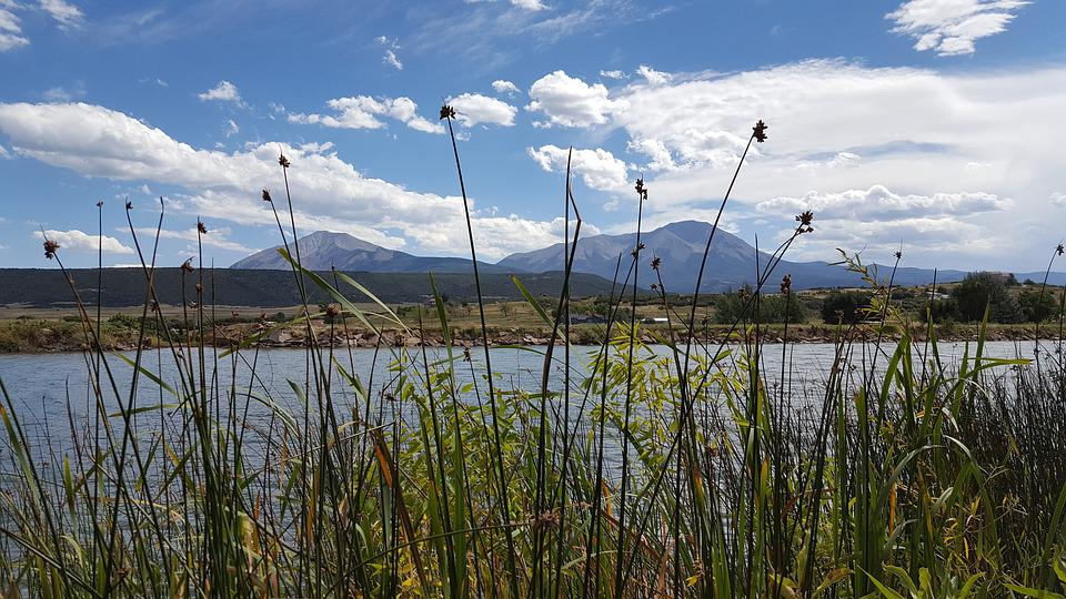 Spanish Peaks, Huatolla, Mountains, Daigre Park, Dam