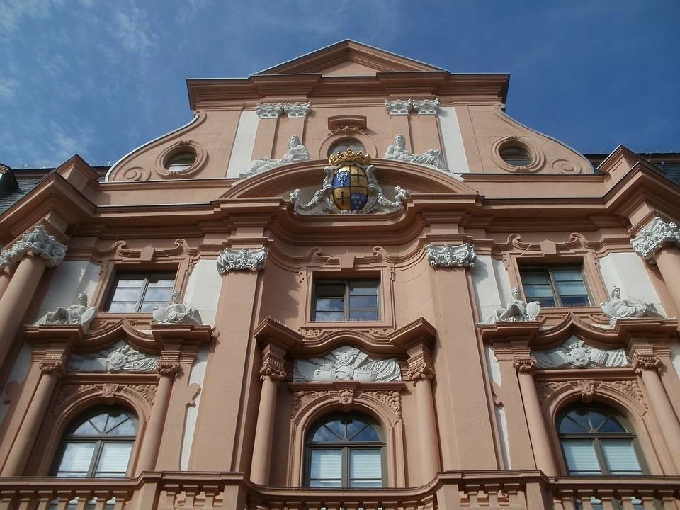 Dalberger Hof, Mainz, House, Front, Exterior, Gable