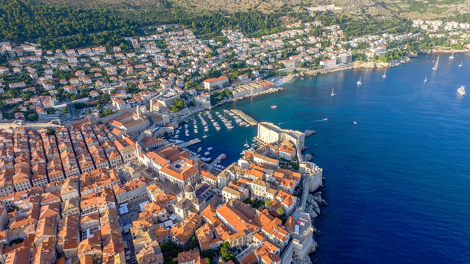 Dubrovnik, Dalmatia, Oldtown, Croatia, Travel, Sea