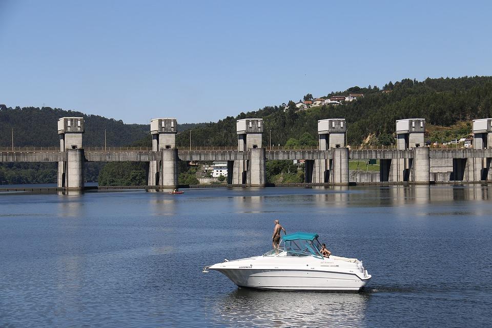 Dam, Rio, Holidays, Rest, Landscape, Tourism, Calm