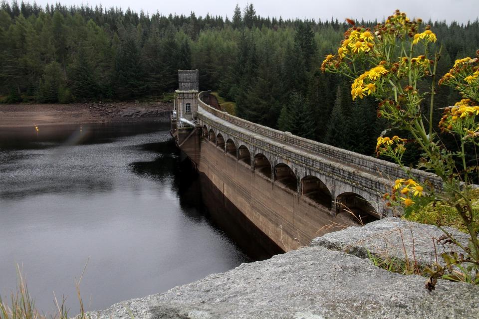 Dam, Laggan Dam, Highlands, Hydroelectricity, Scotland