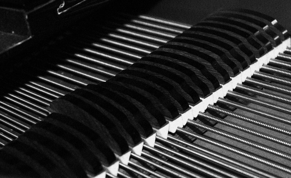 Plan, Piano, Grand Piano, Hammers, Strings, Dampers