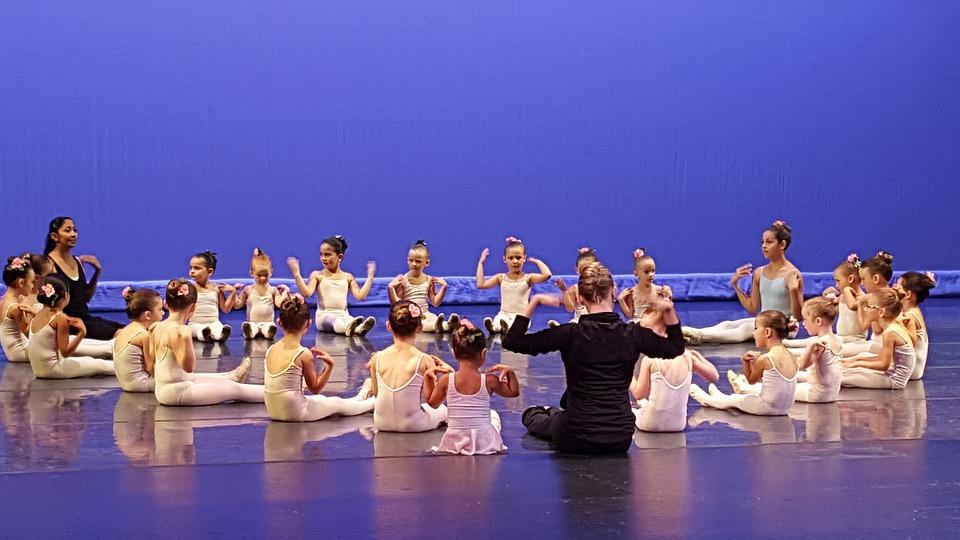 Girls Ballet, Ballet Performance, Kinderballet, Dance