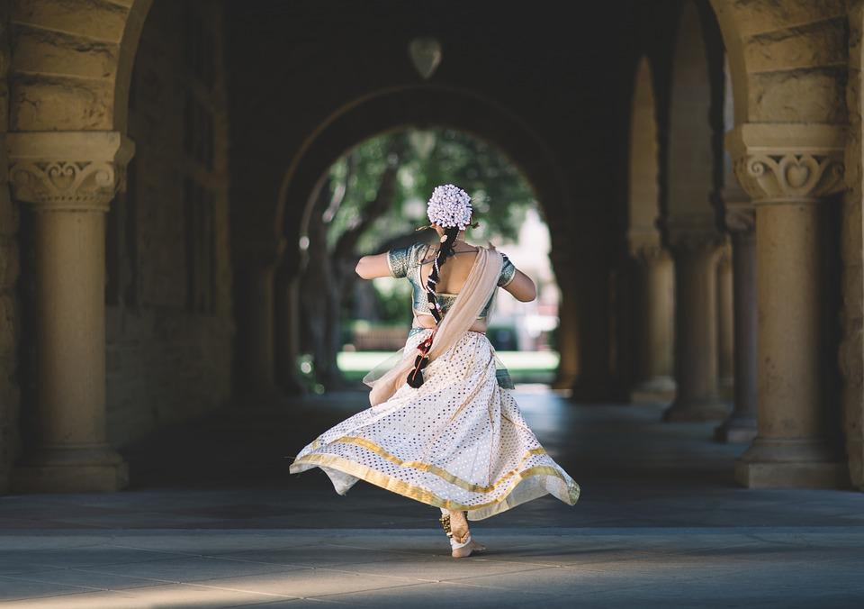 Hindu, India, Woman, Dance, Tradition, Dress, Wedding