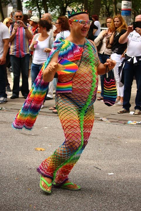Csd, Colorful, Rainbow, Dance, Pride, Parade